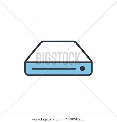 Vector Hard Drive Icon