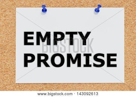 Empty Promise Concept