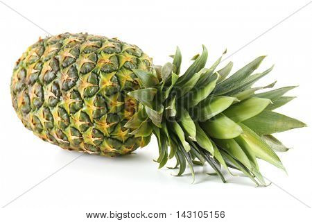Pineapple, isolated on white
