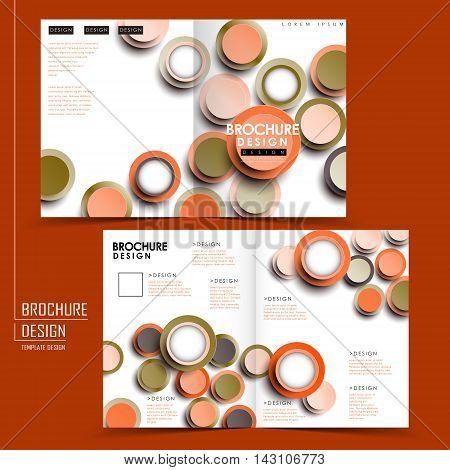 Creative Half-fold Template Design