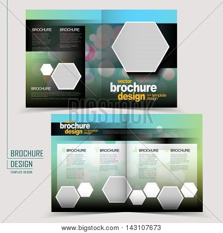 Trendy Half-fold Template Design