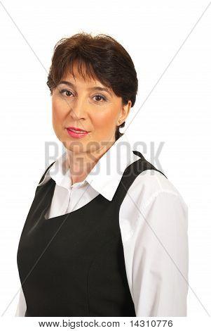Head Shot Of Mature Executive Woman