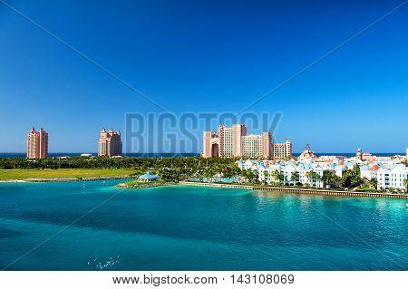 The Atlantis Paradise Island Resort, Located In The Bahamas