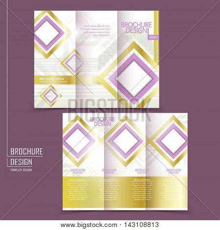 Graceful Tri-fold Template Design