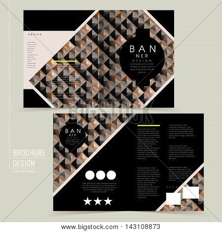 Modern Half-fold Template Design