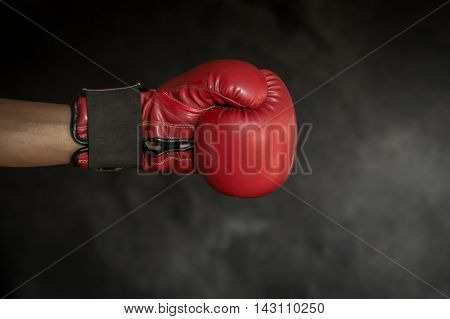 Fist Boxing Gloves, The concept did not give up the fight