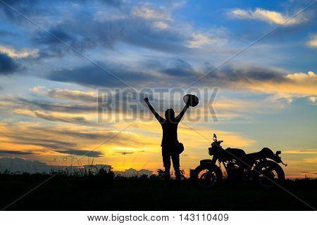 silhouette achievements success, The concept of success