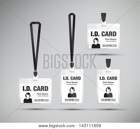Id Card Woman Black1 [converted].eps