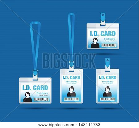 Id Card Woman Blue2 [converted].eps