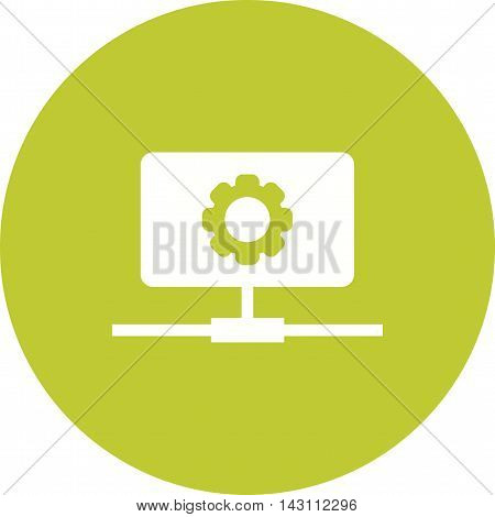 Web, development, business icon vector image. Can also be used for networking. Suitable for use on web apps, mobile apps and print media.