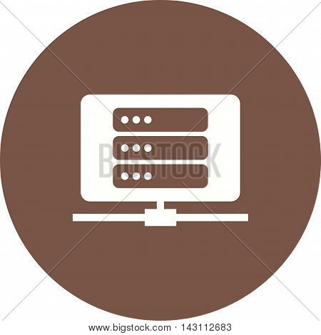 Data, recovery, lost  icon vector image. Can also be used for networking. Suitable for use on web apps, mobile apps and print media.