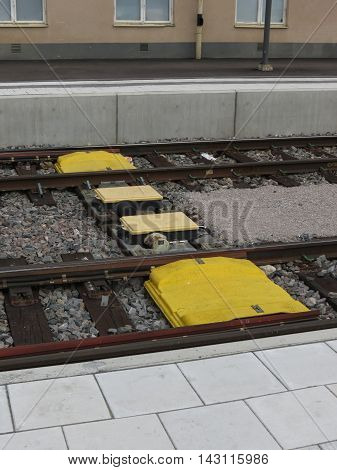 Railway Track Cab Signalling System In Stockholm