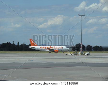 Easyjet Airbus A319 On The Runway