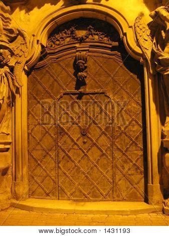 Doorway To The Church