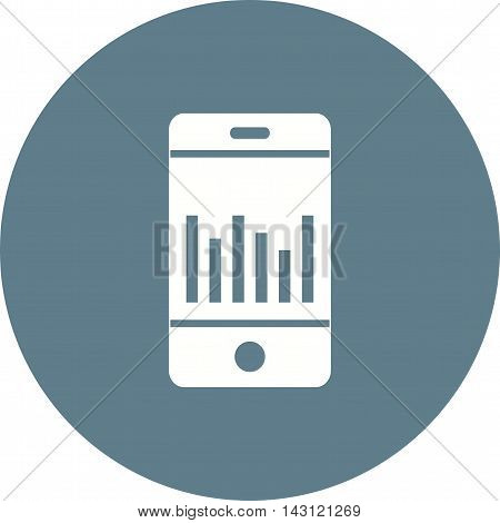 Business, stats, cell icon vector image.Can also be used for finances trade. Suitable for use on web apps, mobile apps and print media.