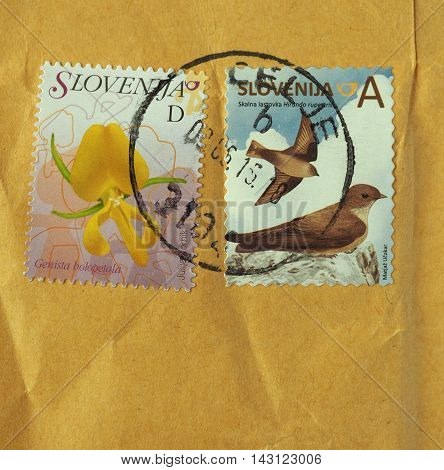 Stamps Of Slovenia