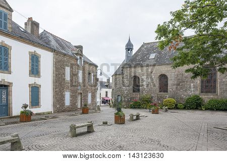 town named Carnac in the Morbihan department in Brittany France