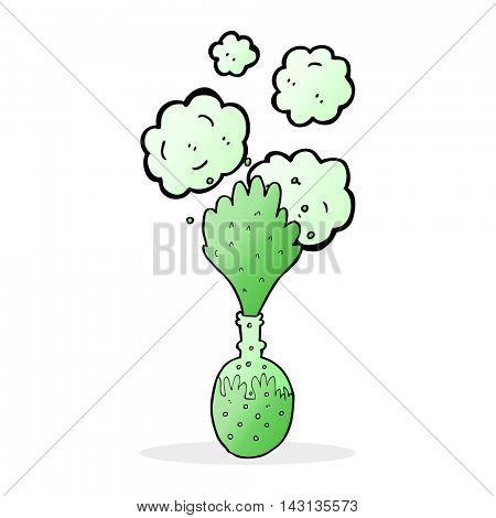 cartoon chemical reaction