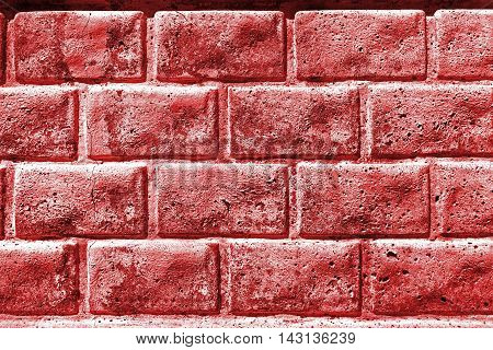 Brickwork, brick, pattern of decorative brick surfaced, rough brick wall, brickwall, brick house, red bricks, shades of red, red brickwork