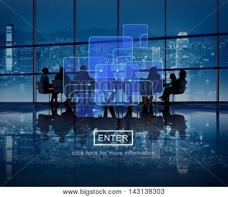 Data Big Data Connection Technology Storage Concept