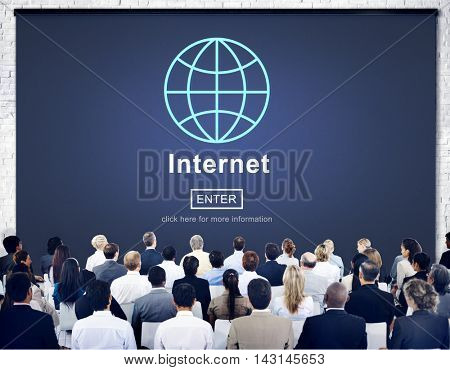Internet Online Technology Connect Website Concept