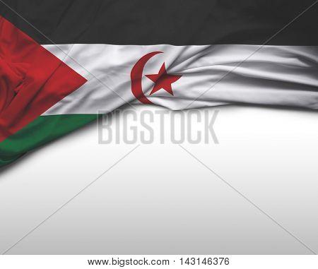 Sahrawi Arab Democratic Republic (Western Sahara) flag