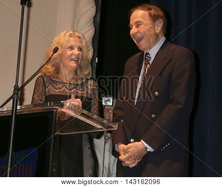 LOS ANGELES - AUG 15:  Hayley Mills, Richard Sherman at the