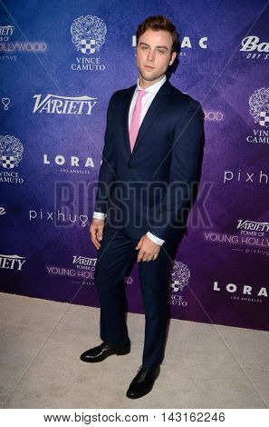 LOS ANGELES - AUG 16:  Sterling Beaumon at the Variety Power of Young Hollywood Event at the Neuehouse on August 16, 2016 in Los Angeles, CA