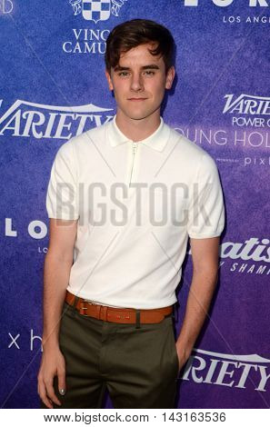 LOS ANGELES - AUG 16:  Connor Franta at the Variety Power of Young Hollywood Event at the Neuehouse on August 16, 2016 in Los Angeles, CA