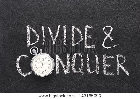 Divide And Conquer Watch