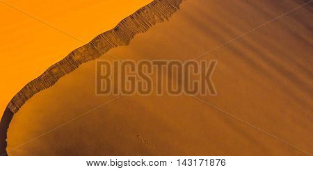 Background image texture of the dune in the desert.
