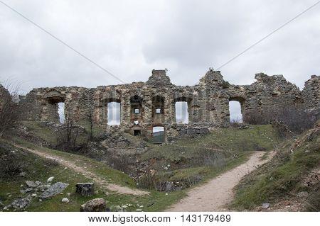 Remains of the castle of San Leonardo de Yague