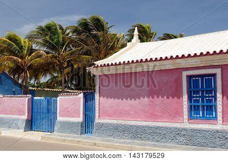 South America Venezuela Adicora fishing village and resort near the city of Coro on the Venezuela coast.