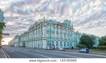 Winter Palace in Saint Petersburg. Hermitage Museum.