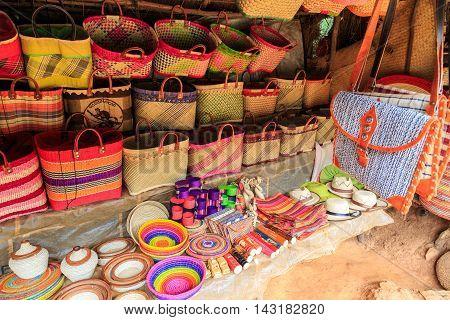 Details Of A Soevenir Shop In Africa