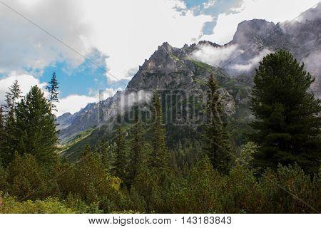 Vysoke Tatry, mountains around Popradske pleso lake
