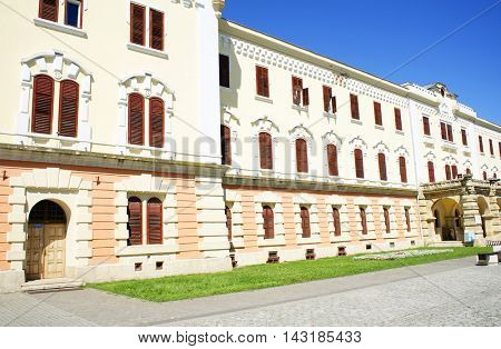 Architectural detail in Alba Iulia Fortress, Romania, Europe