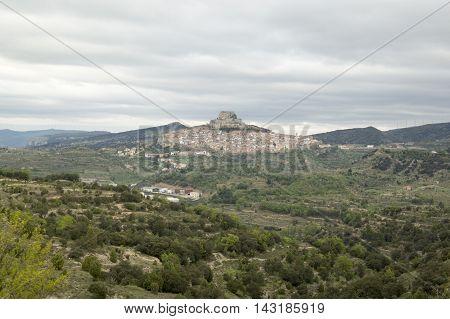 Morella in Castellon provicne in Valencia, Spain