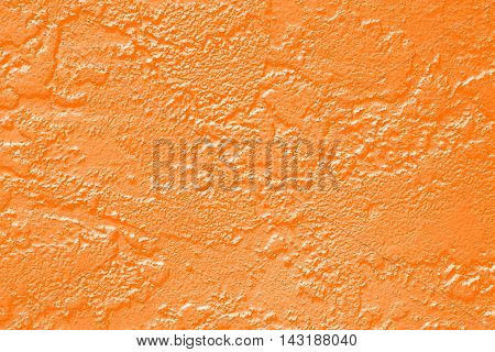 Abstract orange paint wall texture for Halloween or Thanksgiving background