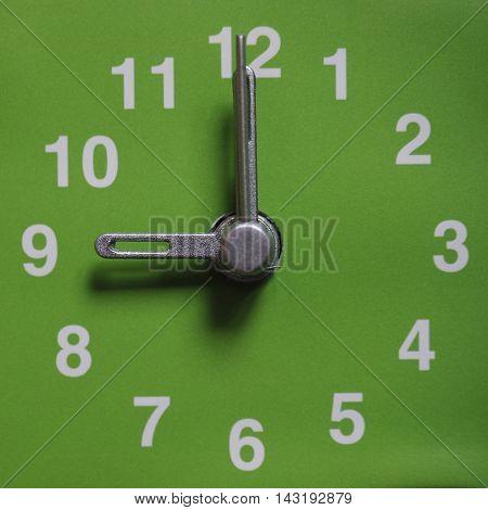 9 O Clock