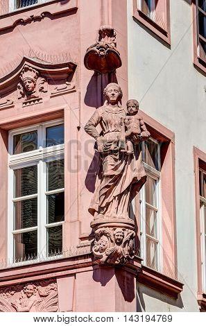 Sculpture In Mainz