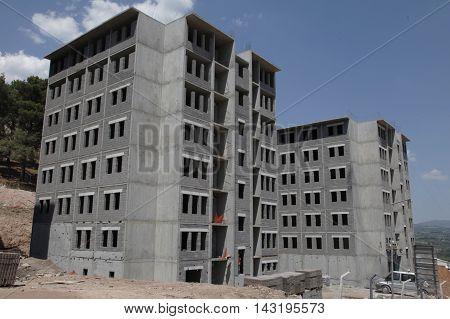 Construction of single building construction, construction iron