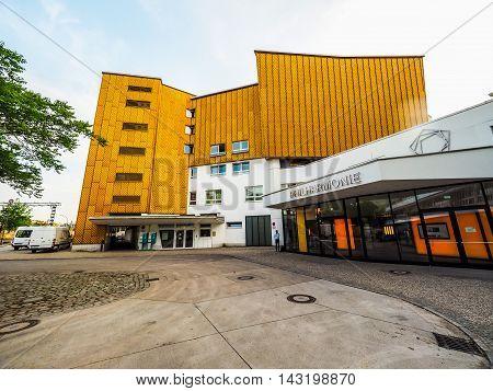 Berliner Philharmonie In Berlin (hdr)