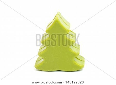 cosmetics soap tree on a white background