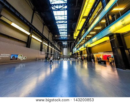 Tate Modern In London (hdr)