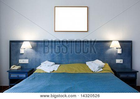 Cómodo dormitorio