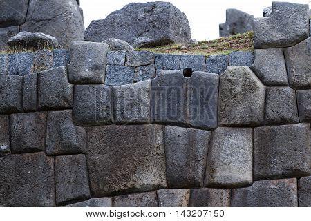 Inca Walls Of Saqsaywaman