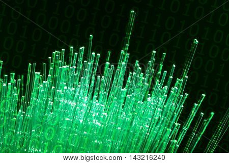 fiber optic data transfer data