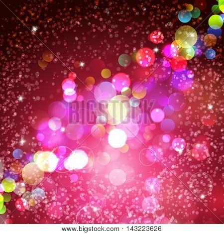 Abstract crimson background. Vector illustration for Valentine's day and Christmas posters holiday greeting cards print and web projects.