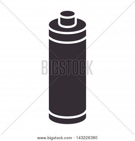 battery alkaline object energy power electricity vector illustration